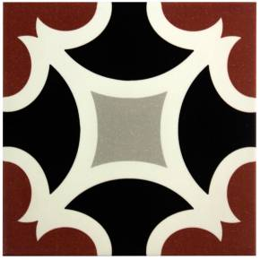 Carrelage imitation carreau ciment sol et mur 20 x 20 cm - NE0108030