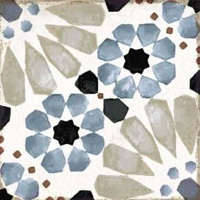 Carrelage style azulejos mauresque - grès cérame - GR8504002