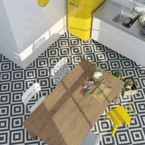 Carrelage imitation parquet mat marron 16.6x100.8 cm - PO0402013