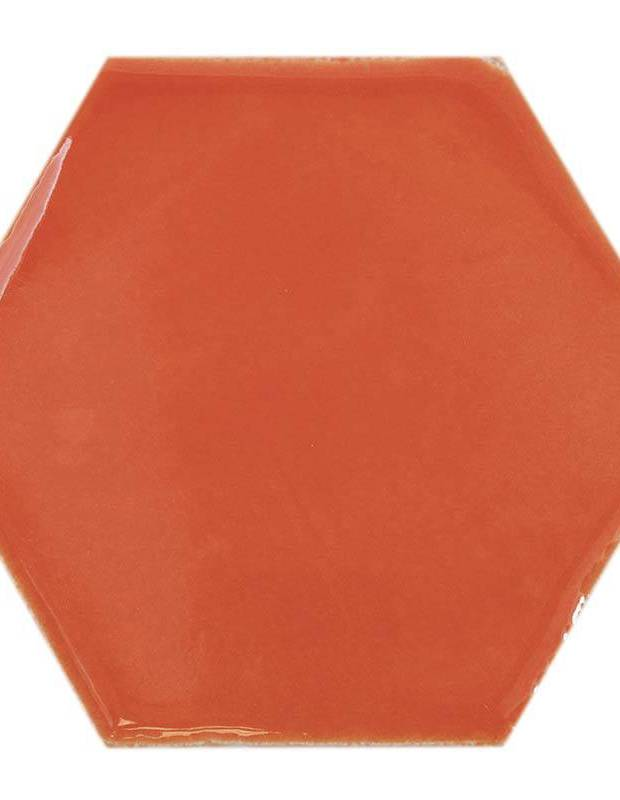 Carrelage hexagonal mural tomette artisanale - CE1406052