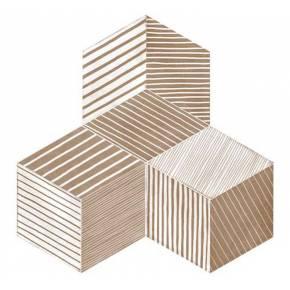 Carrelage en losange et décors design intérieur et extérieur - MU5903004