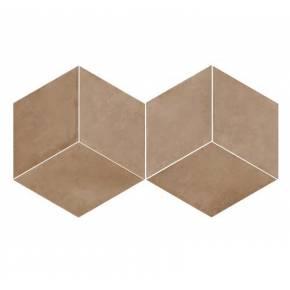 Carrelage en losange à tons d'argile intérieur et extérieur - MU5903002