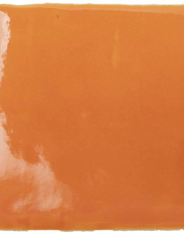 Carrelage artisanal 10 x 10 type terre cuite émaillée CE1406089