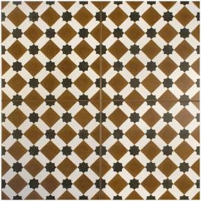 Carrelage imitation carreau ciment sol 45 x 45 cm - HE1105001