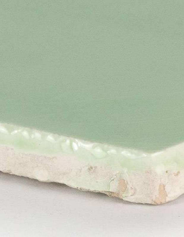 Carrelage artisanal 10 x 10 type terre cuite émaillée CE1406124