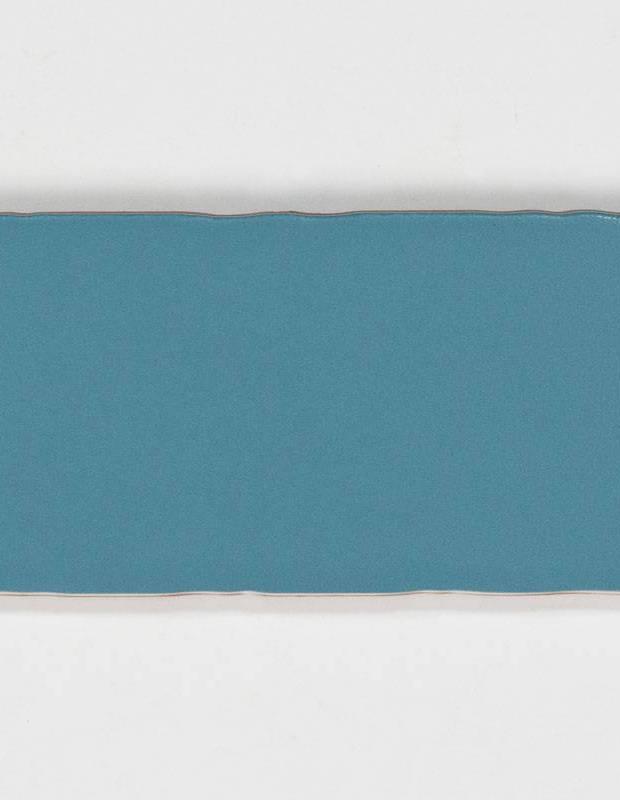 Carrelage rétro mural satiné bleu - AN0802021