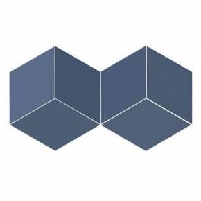 Carrelage en losanges tons bleus intérieur et extérieur - FL5905003