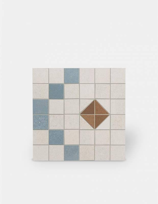 Carrelage imitation carreau ciment sol et mur 15 x 15 cm - VI0202023