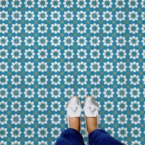 Carrelage imitation carreau ciment sol et mur 15 x 15 cm - VI0202017