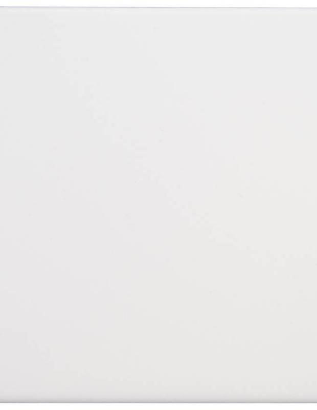 Carrelage scrabble mat blanc 10 x 10 cm - LE0804027