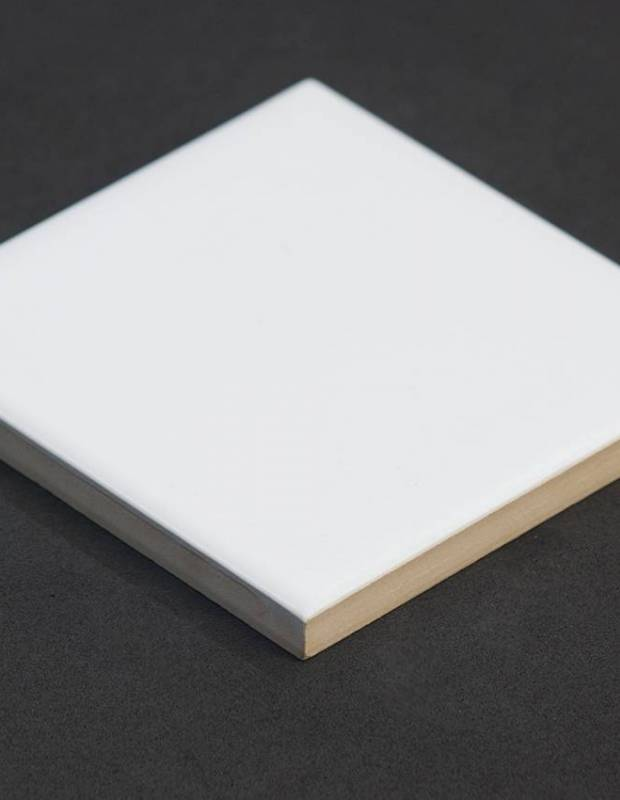 Carrelage mural 10x10 blanc le0804027 for Carrelage blanc mat