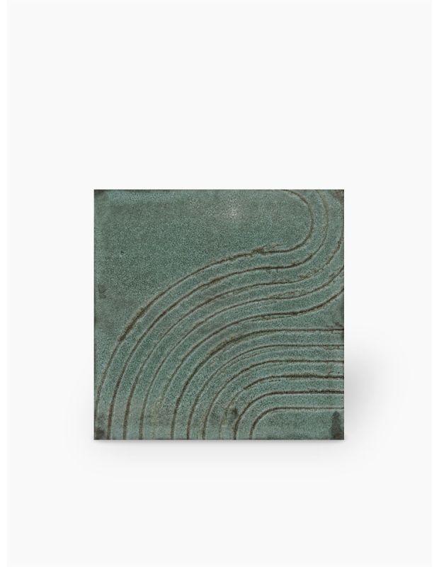 """Carrelage design lettre """"T"""" 10x10 cm mat blanc 10 x 10 cm - LE0804020"""