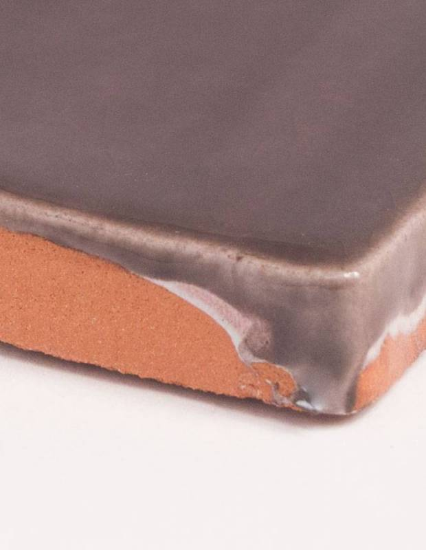 Carrelage mural ancien brillant marron 10 x 10 cm pr0809028 for Carrelage mural 10x10