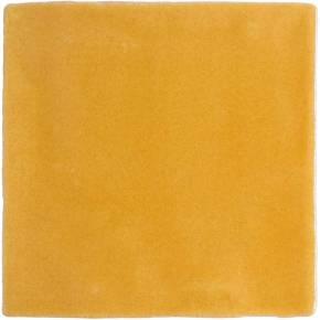 Carrelage mural ancien brillant jaune 13 x 13 cm - PR0810001