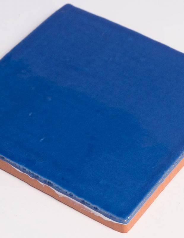 Carrelage mural ancien brillant bleu 13 x 13 cm - PR0810006