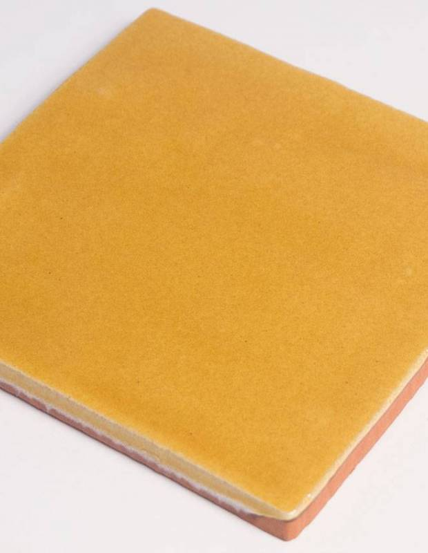 Carrelage mural ancien brillant jaune 10 x 10 cm pr0809031 for Carrelage mural 10x10